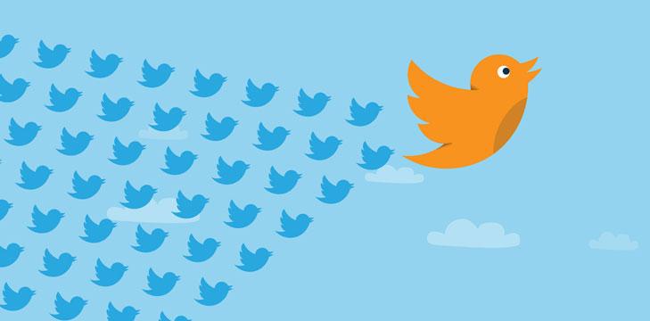 Interact on Twitter