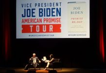 Joe Biden Speaks at the Durham Performing Arts Center