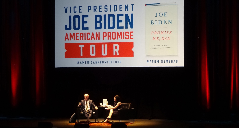 Joe Biden Speaks at the Durham Performing Arts Center
