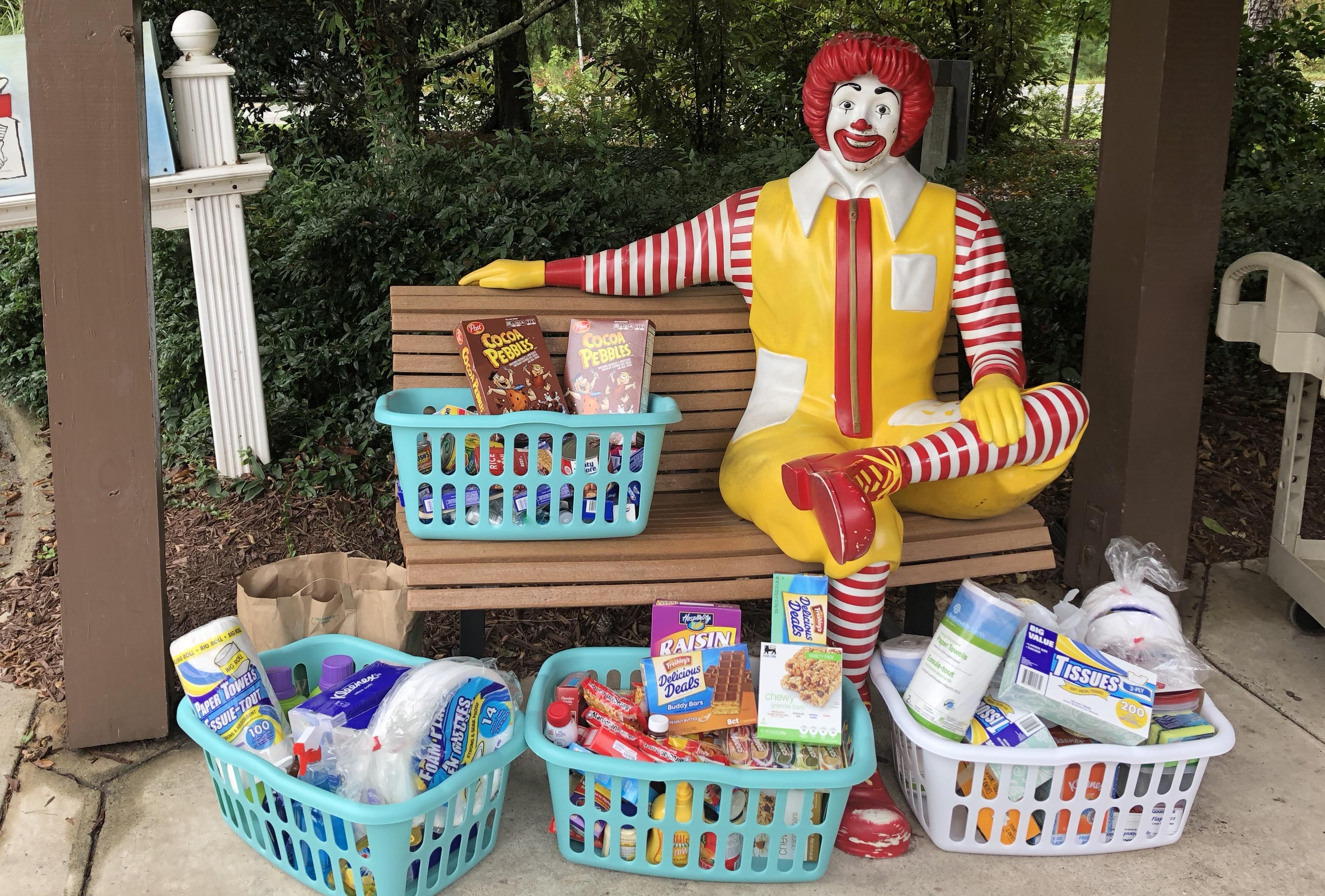 Ronald McDonald Donations