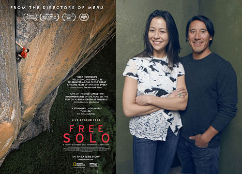 "Academy Award Prediction: ""Free Solo"" by Elizabeth Chai Vasarhelyi and Jimmy Chin"