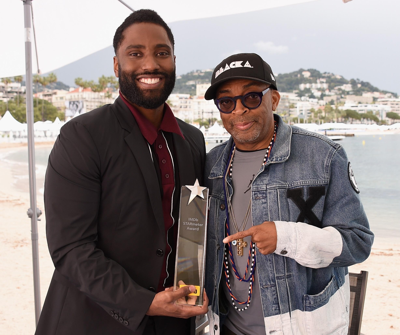 John-David-Washington-Spike-Lee Black Filmmakers and Actors Breaking Barriers in Hollywood