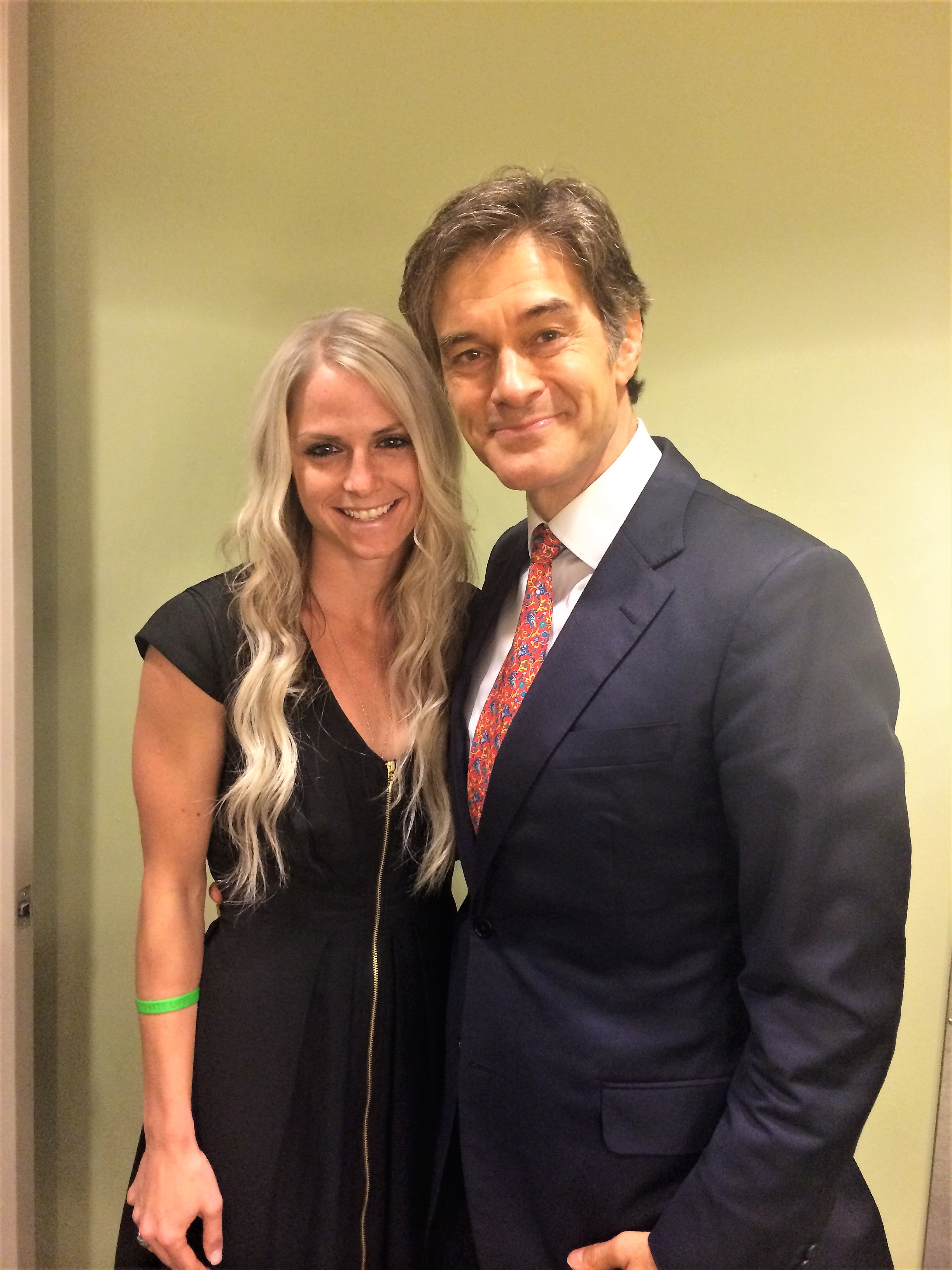 Mandy-with-Dr.-Oz-3 Mandy Lubrano Promoted to Vice President at All American Entertainment