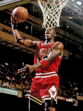 Michael-Jordan-playing-in-the-NBA-for-the-Chicago-Bulls Inspiring Basketball Players Who Got Their Start in the NCAA