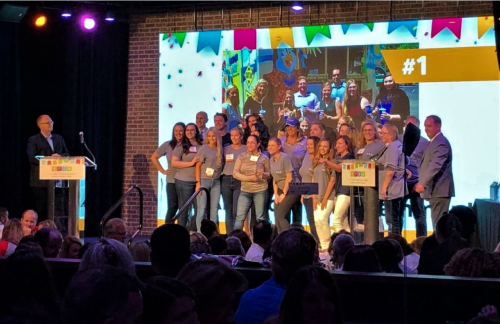 The AAE Team Receives the Best Places To Work Award 2019 by Triangle Business Journal