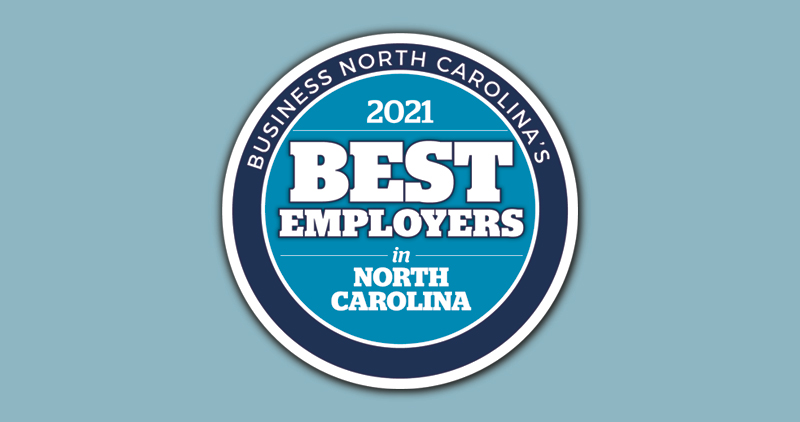 Business North Carolina's 2021 Best Employers in North Carolina