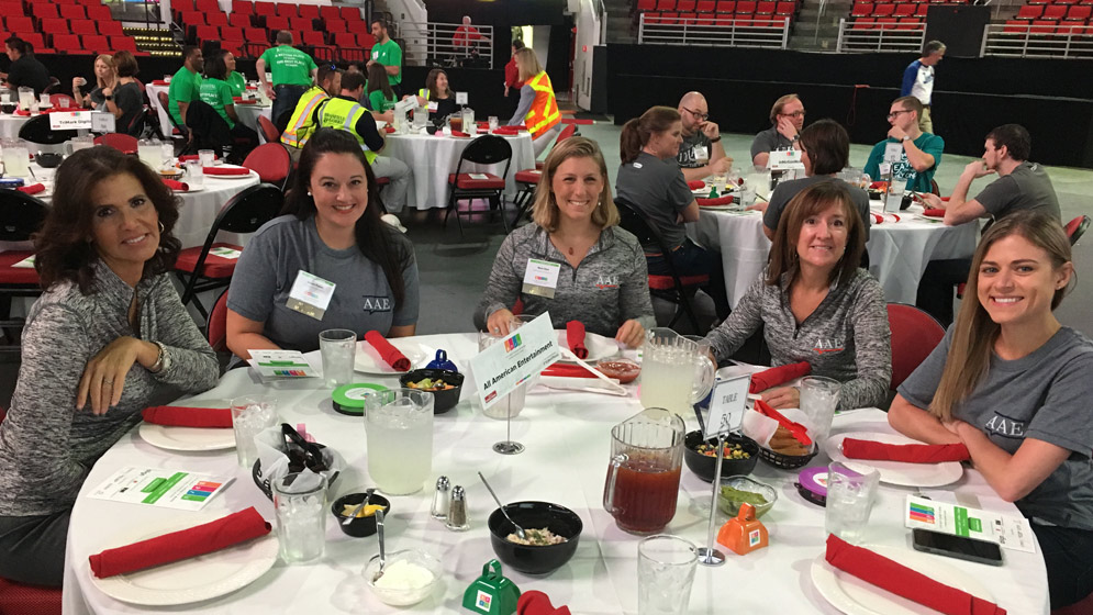 Award Luncheon for Best Places To Work 2018 at PNC Arena