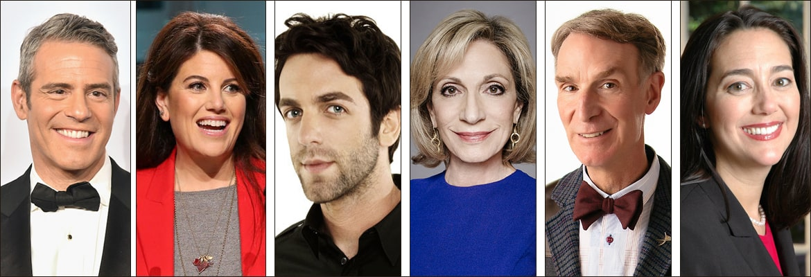Famous Jewish Celebrity Speakers and Award-Winning Jewish Authors to Book for Your Next Event