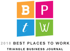 2018 Best Places To Work Triangle Business Journal