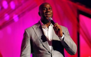 Leadership Development Speaker & Legendary Basketball Star Magic Johnson Inspires Audiences around the World