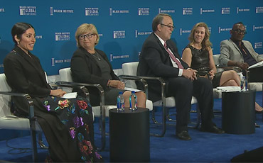 Obesity Speakers Panel at Milken Institute Global Conference 2019