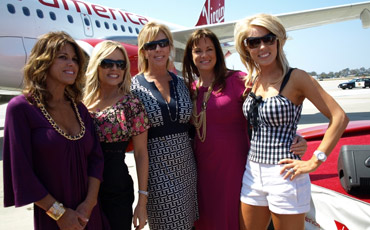 Celebrity Moms and Housewives from the Popular TV Show Real Housewives