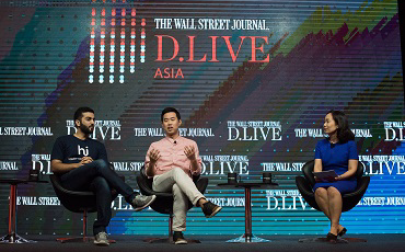 Digital Strategists and Executives at WSJ D.Live Asia