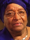 Booking Info for Ellen Johnson-Sirleaf