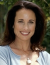 Booking Info for Andie MacDowell