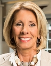 Booking Info for Betsy DeVos