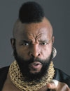 Booking Info for Mr. T