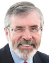 Booking Info for Gerry Adams