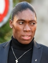 Booking Info for Caster Semenya