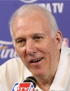 Booking Info for Gregg Popovich
