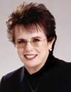 Booking Info for Billie Jean King